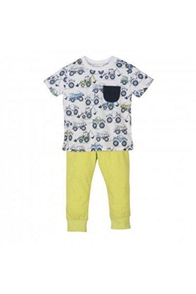 Mamino Pijama Takımı Erkek Çocuk Yeşil
