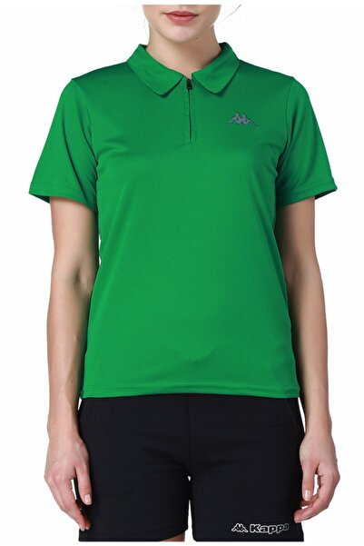 Kappa Polo Slim Fit T-shirt Yeşil