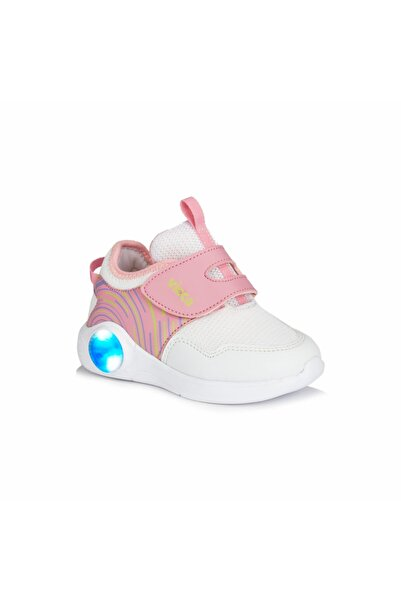 Vicco Jojo Kız Bebe Beyaz/pembe Spor Ayakkabı