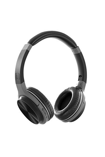 MF PRODUCT Acoustic 0372 Kulak Üstü Kablosuz Bluetooth Kulaklık Siyah