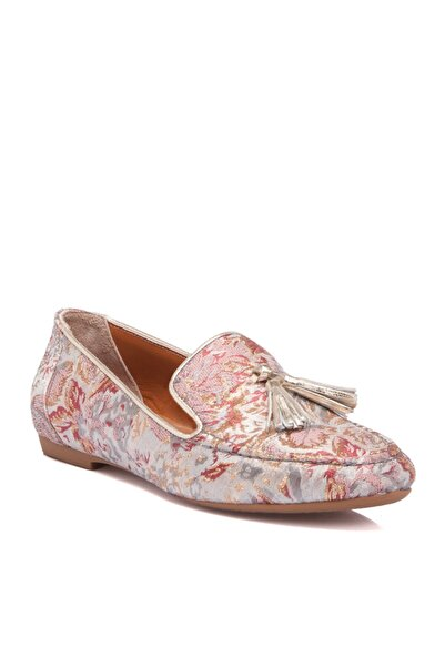 Tergan Bej Deri Kadın Ayakkabı 64224n6y