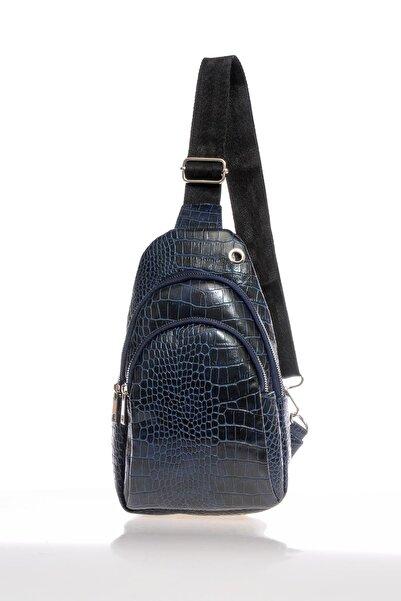 Sergio Giorgianni Luxury Sg2112 Lacivert-1 Kadın Sırt Çantası