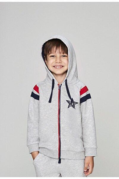 Wonder Kıds Wonderkids Erkek Çocuk Kapşonlu Sweatshirt Wk19aw1312