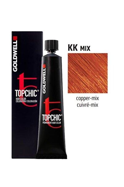 GOLDWELL Topchic Saç Boyası Kk Mix Bakır 60 ml
