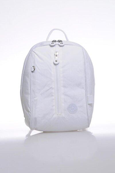 SMART BAGS Smb1233-0002 Beyaz Kadın Küçük Sırt Çantası