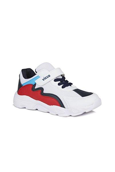 Vicco Neon Erkek Çocuk Beyaz/lacivert Spor Ayakkabı
