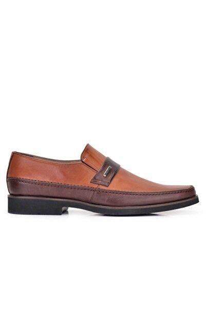 Nevzat Onay Hakiki Deri Taba Günlük Loafer Erkek Ayakkabı -11519-