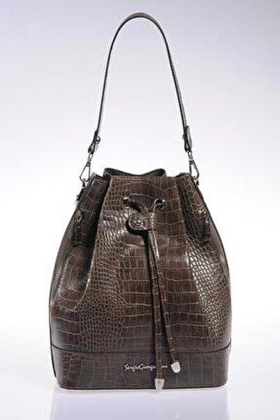 Luxury Sg1104 Vizon Kadın Omuz Çantası