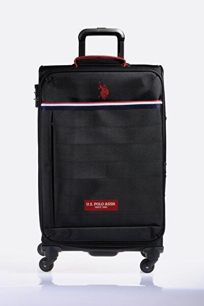U.S. Polo Assn. Plvlz9110b Siyah Unısex Orta Boy Valiz