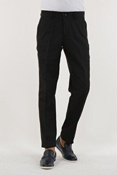 Siyah Renk Klasik Kalıp Erkek Pantolon