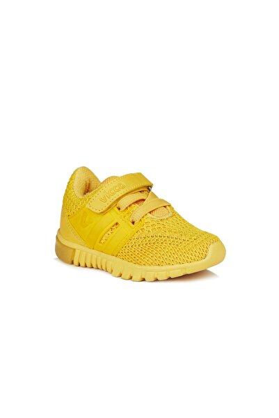 Vicco Bebe Ayakkabı Unisex Bebe Sarı Spor Ayakkabı
