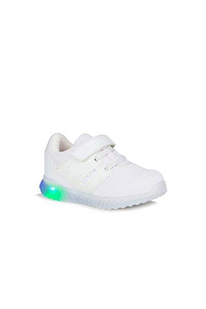 Vicco Flash Unisex Çocuk Beyaz Spor Ayakkabı