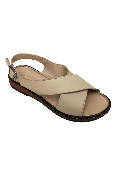 Venüs 981203 Hakiki Deri Ortopedik Kadın Sandalet