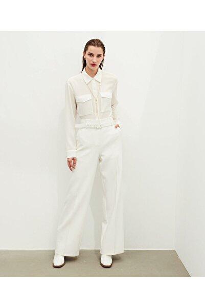 İpekyol Yüksek Bel Pamuklu Pantolon