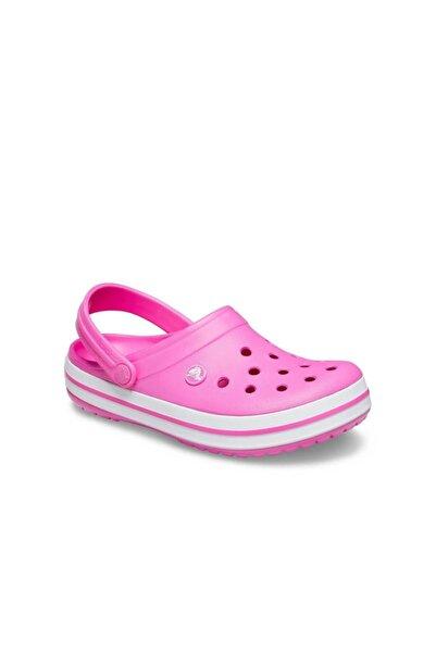 Crocs Crocband Bayan Terlik - Electric Pink/white