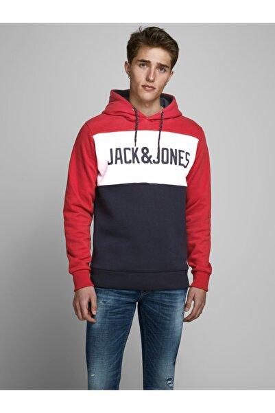 Jack & Jones Jack Jones Logo Blockıng Erkek Sweat