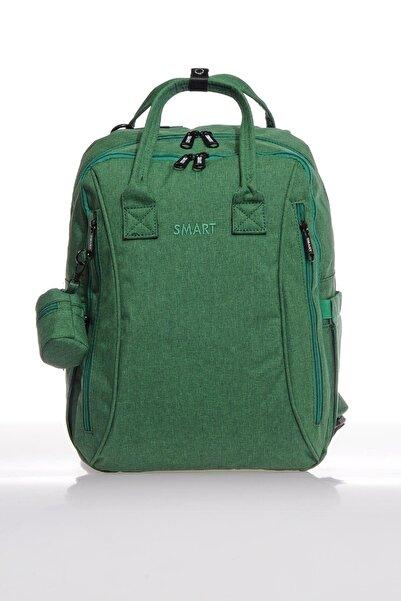 SMART BAGS Smb2006-0028 A.yeşil Kadın Bebek Bakım Sırt Çantası