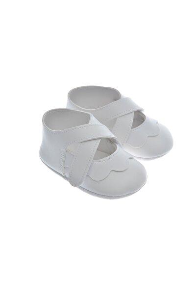 Freesure Frs911220 Beyaz Bebek Patiği, Bebek Ayakkabısı