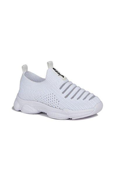 Vicco Macro Unisex Bebe Beyaz Spor Ayakkabı