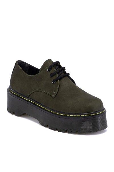 Tergan Haki Vegan Kadın Ayakkabı 65314q4ı