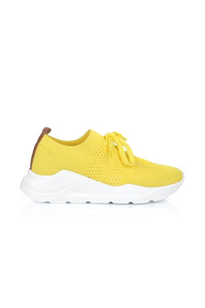 Oblavion Life Sarı Triko Sneaker