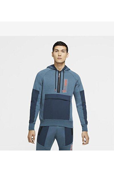 Nike Air Max 1/2-zip Fleece Cw6547-058 Erkek Sweat