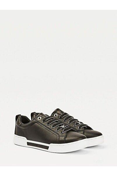 Tommy Hilfiger Kadın Th Branded Outsole Croc Sneaker