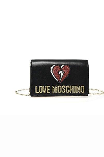 Love Moschino Love Moschıno Jc4268pp0bkj0 Siyah Kadın Omuz Çantası
