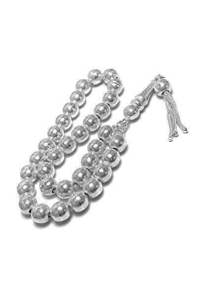 Midyat Gümüş Dünyası Telkari Gümüş Tesbih(Kod 2020768)