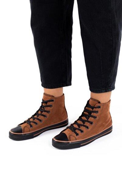 ESPARDİLE Unisex Süet Uzun Spor Ayakkabı