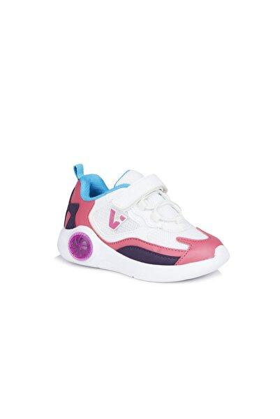 Vicco Yoda Kız Bebe Beyaz/fuşya Spor Ayakkabı