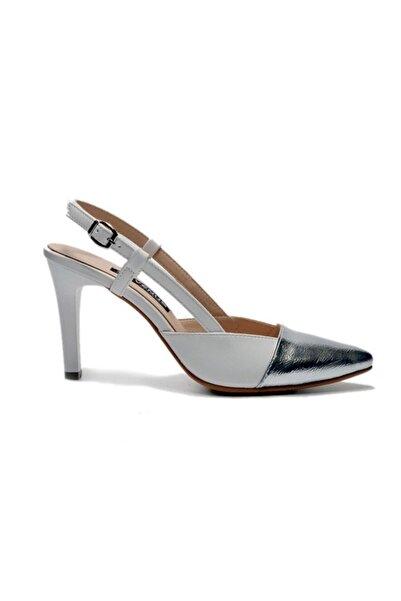 Venüs 2028212 Beyaz Trendy Topuklu Ayakkabı