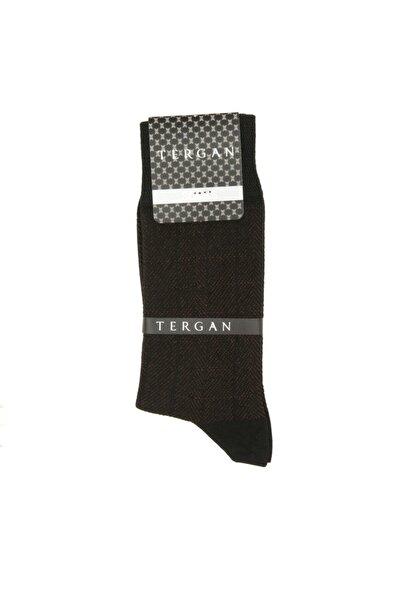 Tergan Siyah-kiremit Tekstil Erkek Bambu Çorap 20092h5x