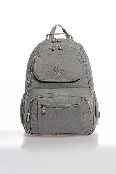 SMART BAGS Smbky1215-0078 Gri Kadın Sırt Çantası