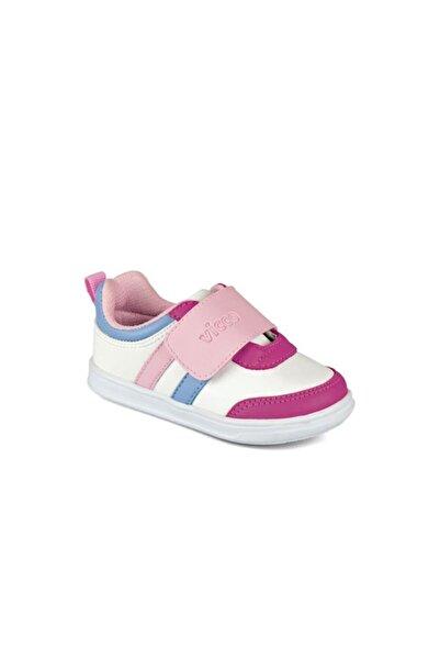 Vicco Ringo Kız Ilk Adım Beyaz/fuşya Spor Ayakkabı