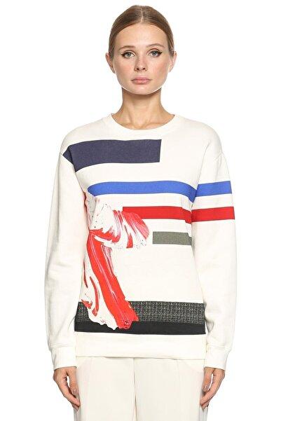 Prabal Gurung Desenli Sweatshirt