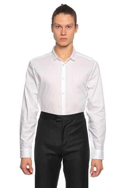 John Varvatos Beyaz Gömlek