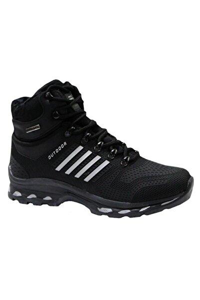 Marco Jamper 1820 Siyah-gümüs Günlük Erkek Ayakkabı Bot