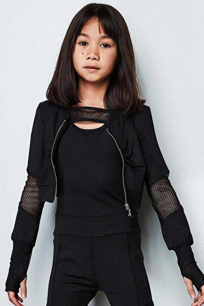 Patrizia Pepe Kız Çocuk Siyah S-shirt 19sspjffe06