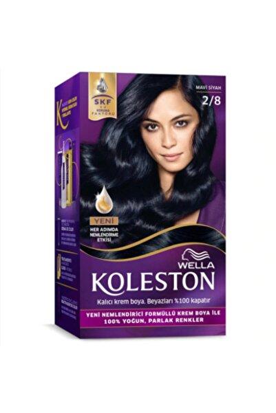 Koleston Kit 2/8 Mavi Siyah Saç Boyası