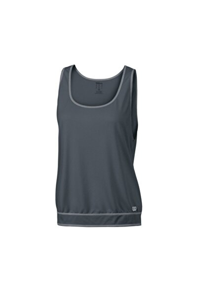 Wilson Tank Spring Art Athletic Füme Kadın T-shirt Wra749002