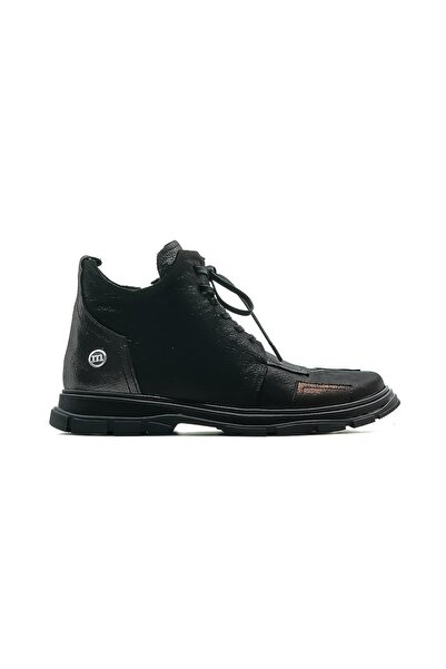 Mammamia Hakiki Deri Kadın Casual Bot Ayakkabı 20k D20kb-1245 Z