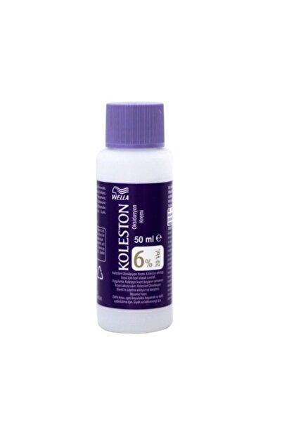 Koleston Sıvı Peroksit %6 Krem Boya Için Oksidan Boya Sıvısı 50ml