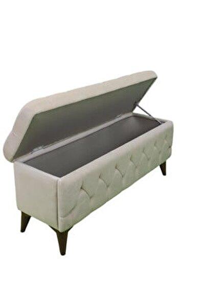 Sandıklı Puf Bench Puf 120 Cm /krem