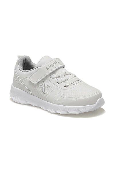 Kinetix Almera Beyaz Açık Gri Çocuk Spor Ayakkabı