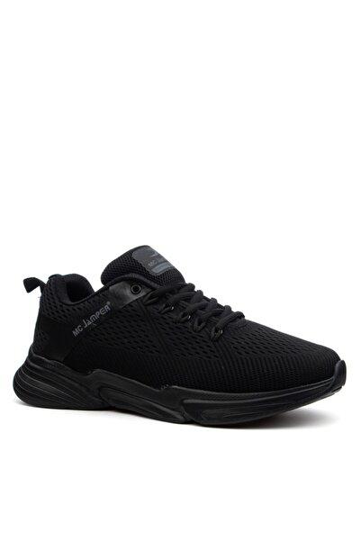 Marsetti Siyah Sneaker Spor Ayakkabı