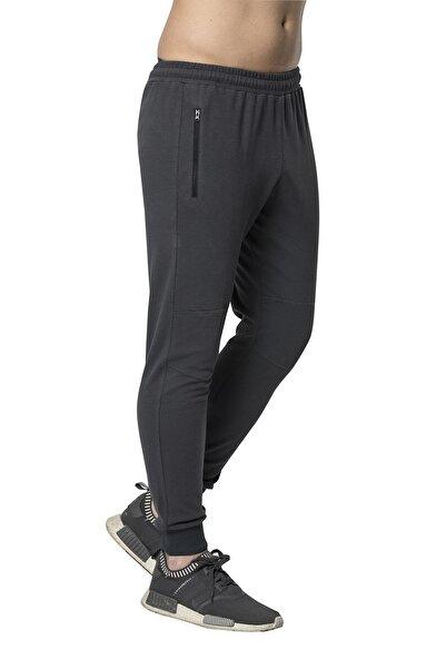Crozwise Polyester Yağmur Desen Erkek Dar Paça Pantolon