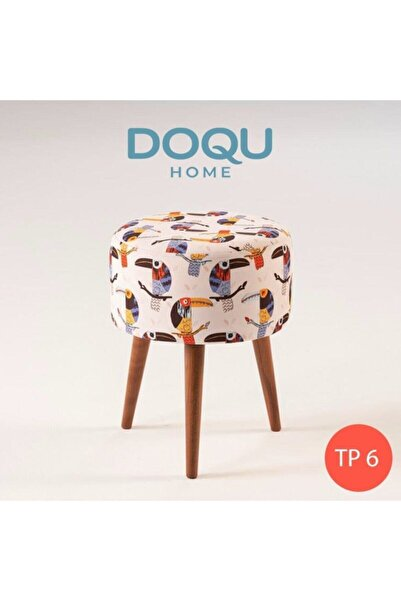 Doqu Home Trio Dekoratif Puf Tp6