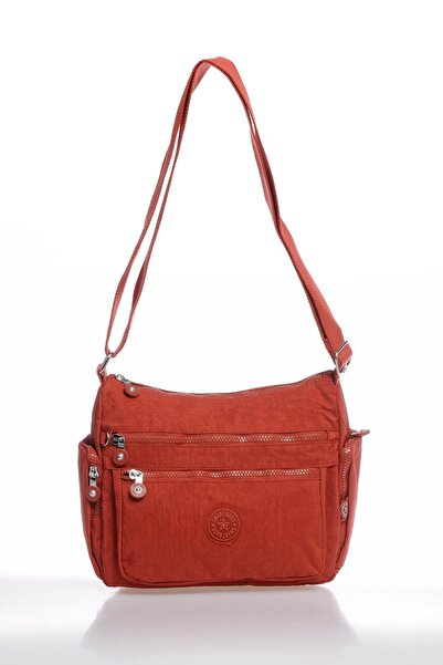 SMART BAGS Smbky1115-0128 Kiremit Kadın Çapraz Çanta