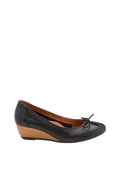 Hush Puppies Hayley Toll Kadın Siyah Ayakkabı